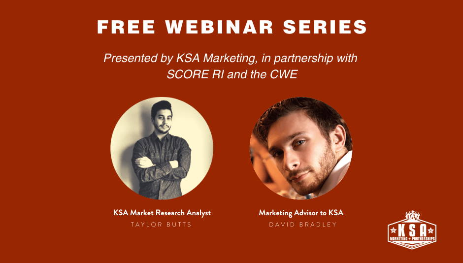 UPCOMING WEBINARS: KSA + SCORE RI